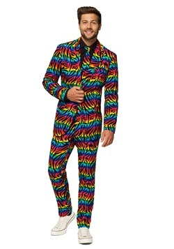 Men's OppoSuits Wild Rainbow Costume Suit