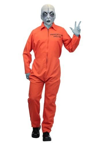 Adult Area 51 Escapee Costume