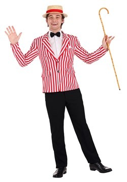 Men's Roaring 20s Plus Size Jacket Costume