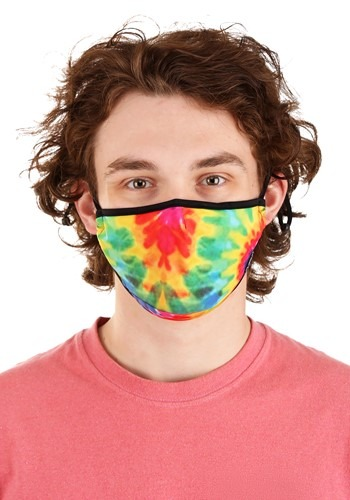 Tie Dye Protective Fabric Face Covering Mask