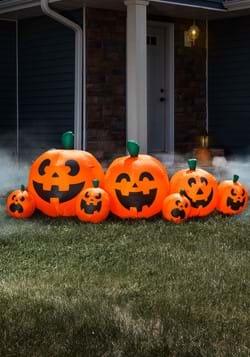 "96""L Electric Inflatable Halloween Pumpkins"