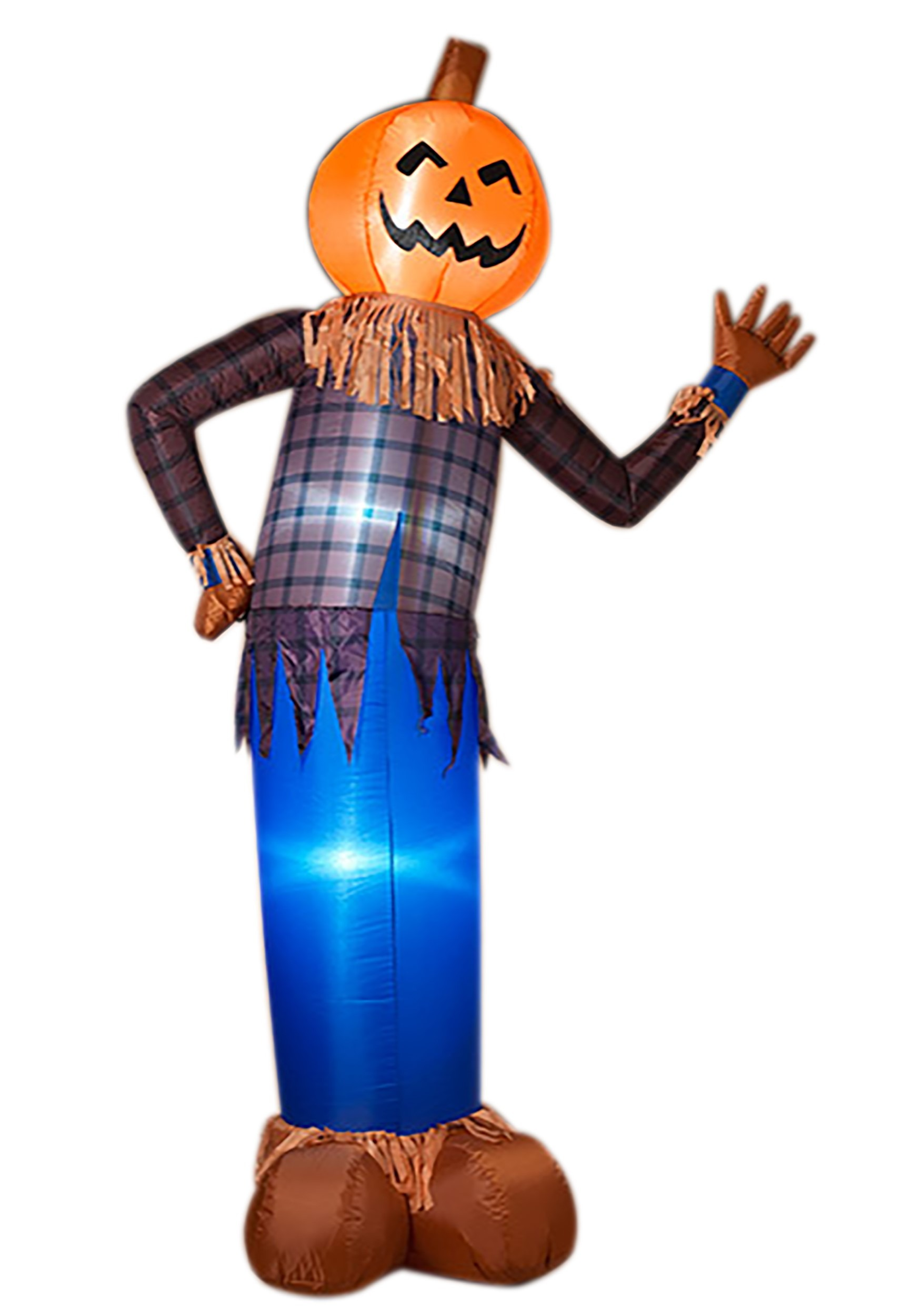 Image of: 96 Inch Electric Inflatable Halloween Scarecrow