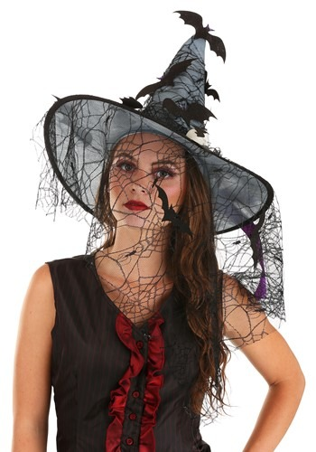 Spooky Light Up Witch Hat