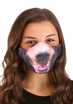 Adult Bear Sublimated Face Mask