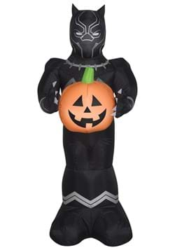 Black Panther Airblown Black Panther with Pumpkin Prop