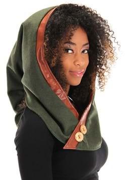Woodland Elf Plush Hood
