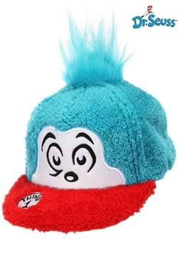 Thing 1 Fuzzy Cap