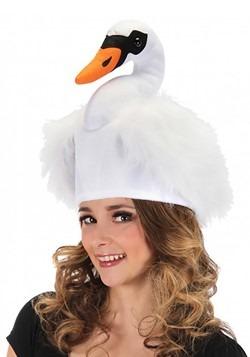 Swan Plush Hat