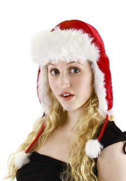 Santa Aviator Plush Hat