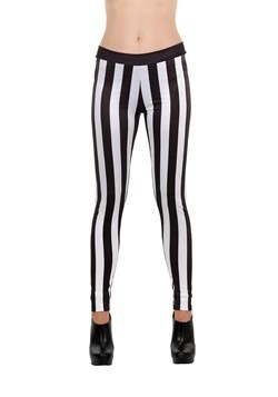 Striped Leggings One Size