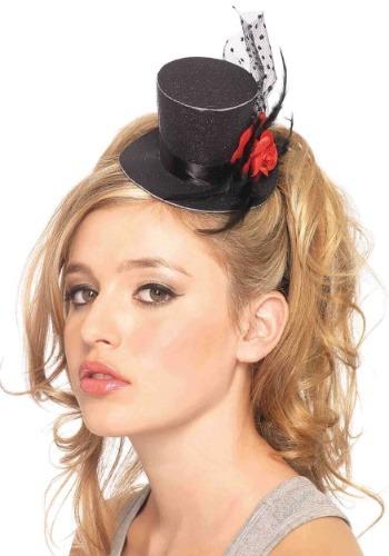 Mini Black Top Hat