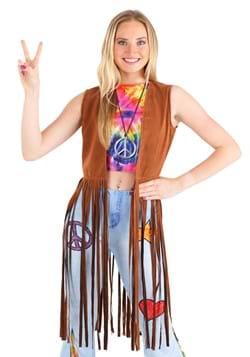 Womens Hippie Costume Vest