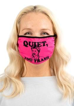 Golden Girls Quiet, You Trash Adjustable Face Cover