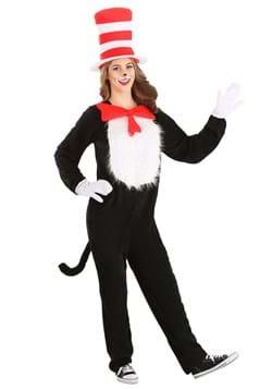 Plus Size Adult Cat in the Hat Costume Alt 7