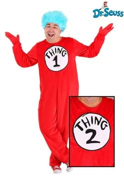 Thing 1&2 Adult Plus Costume
