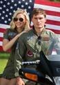 Women's Top Gun Flight Dress Alt 7