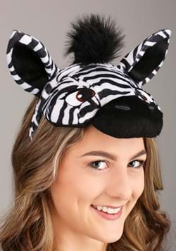 Zebra Plush Headband & Tail Kit Alt 1