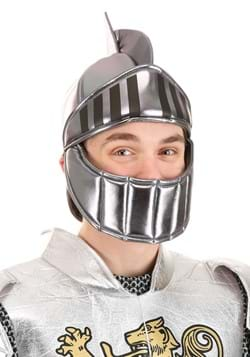 Silver Knight Plush Helmet