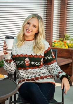 Pumpkin Spice Latte Halloween Sweater for Adults