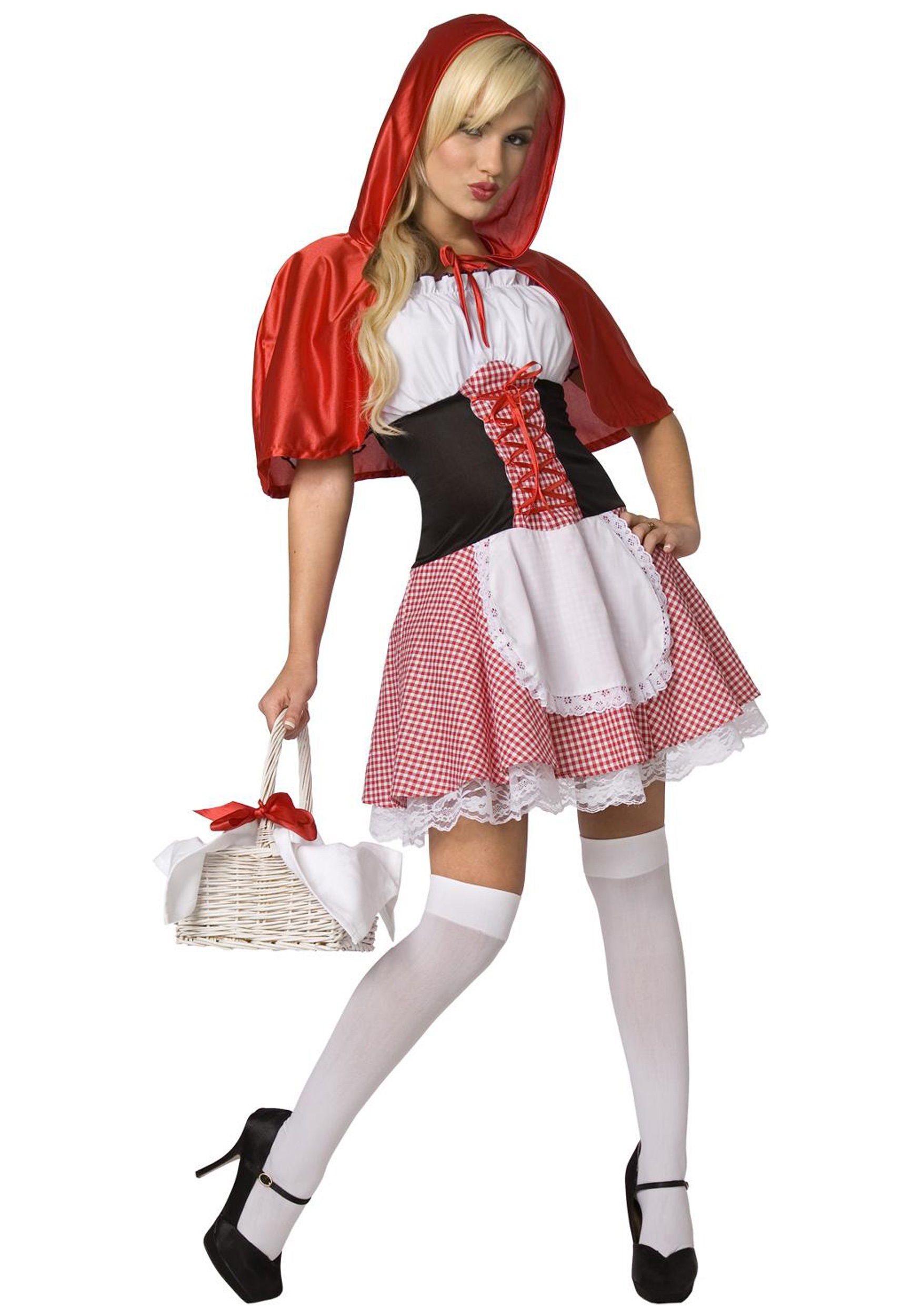 INOpets.com Anything for Pets Parents & Their Pets Sexy Red Riding Hood Fancy Dress Costume