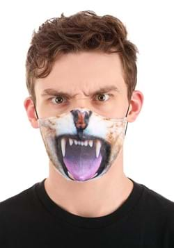 Adult Lion Sublimated Face Mask-Update