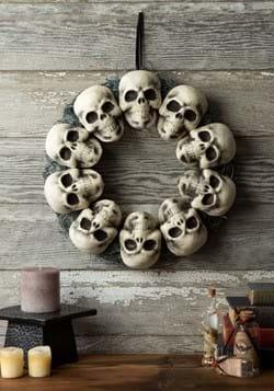 15in Skull Wreath Decoration