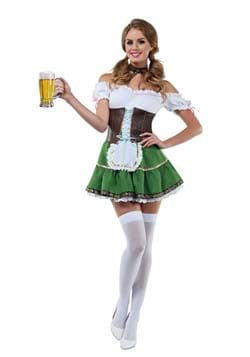 Sexy Beer Girl Costume for Women
