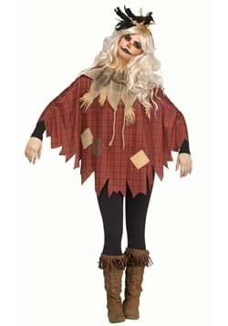 Womens Plus Size Scarecrow Poncho