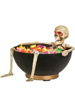 Animated Skeleton in Candy Bowl