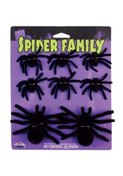 Fuzzy Black Spiders