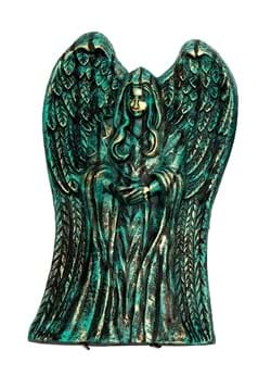 """21"""" Winged Angel Tombstone Decoration"""