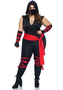 Sexy Deadly Ninja Women's Plus Costume