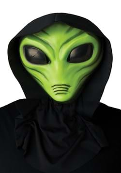 Light Up Green Alien Mask