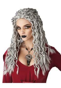 Gray Crinkle Dreads Wig