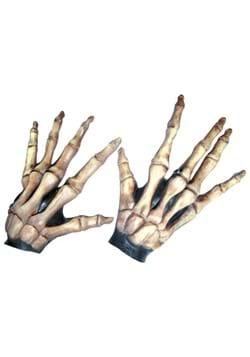 Bone Colored Large Skeleton Hands