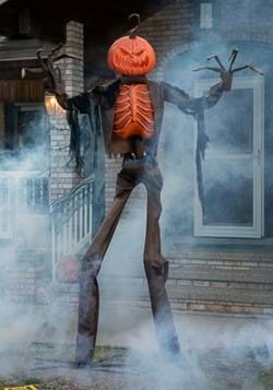 8ft Animated Giant Pumpkin Scarecrow-1
