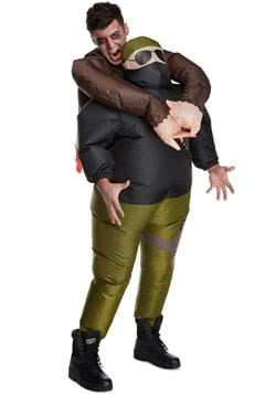 Pick Me Up Zombie Hunter Inflatable Adult Costume