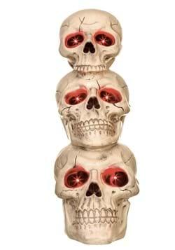 27 5 Light up Skull Totem