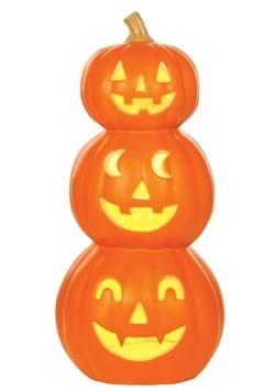 20 in Light Up Pumpkin Stack