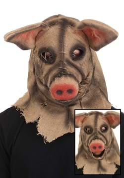 Pig Scarecrow Mouth Mover Mask