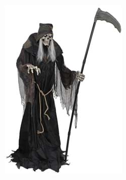 6ft Lunging Reaper DigitEye Animated Prop