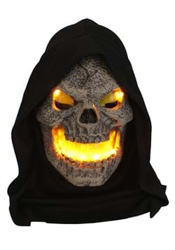 Flame Fiend Flaming Skull Mask