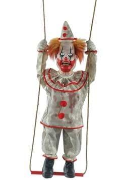 Animated Swinging Happy Clown Doll