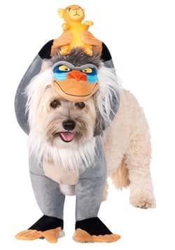 Lion King Rafiki and Simba Dog Costume