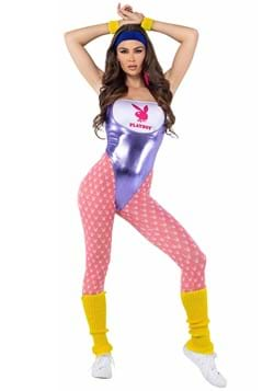 Womens Playboy 80s Workout Costume