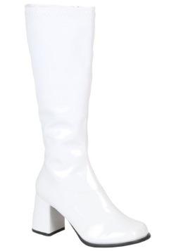 Womens Wide Calf Disco Boots