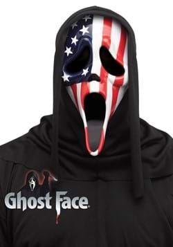 Patriotic Ghost Face Mask