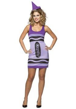Sexy Wisteria Crayon Dress