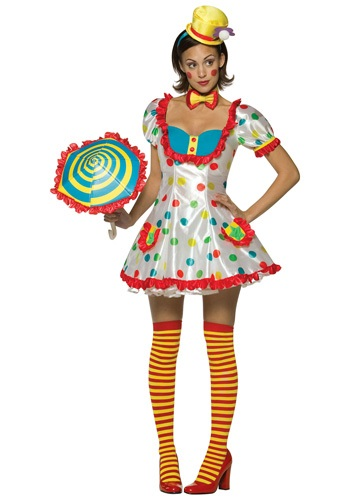 Sexy Womens Clown Costume