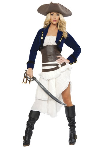 Deluxe Colonial Pirate Costume